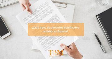 tipos de contratos bonificados 2021